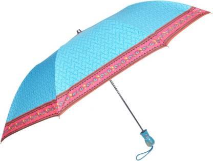 Fendo 2 Fold Auto Open Skyblue Color Umbrella