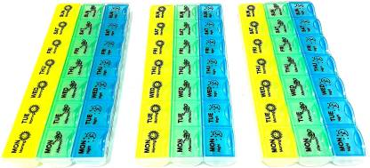 medlycare india Best Pill Box Combo Medicine Dispenser