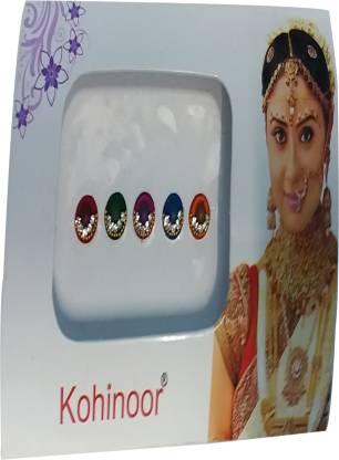 Kohinoor Fancy 2 Forehead Multicolor Bindis
