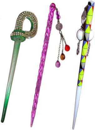 ARTS CHETAN combo of juda sticks Bun Stick