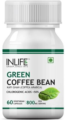 Inlife Green Coffee Bean Extract for Weight Loss Capsules