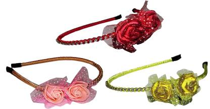 ARTS CHETAN Combo of Multi Color Metal Hairbands Hair Band