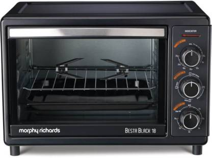 Morphy Richards 18-Litre Besta Black 18L OTG Oven Toaster Grill (OTG)