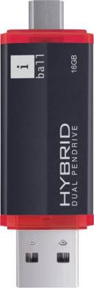 Iball Hybrid 16 GB OTG Drive