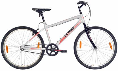 Hero Octane Parkour 26 T Hybrid Cycle/City Bike Single Speed, Black, Grey  Hero Cycles