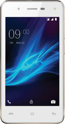 LAVA A44 4G with VoLTE (White & Gold, 8 GB)