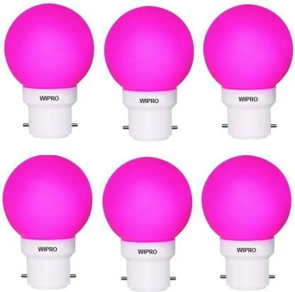WIPRO 0.5 W Standard B22 LED Bulb