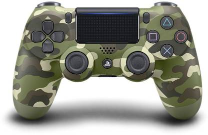 SONY DualShock 4 Wireless Controller for PlayStation 4 - Green Camouflage  Gamepad