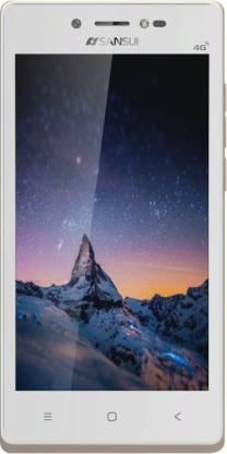 Sansui Horizon 1 (Golden, White, 8 GB)