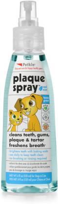 Petkin Plaque spray 120ml dental Cologne