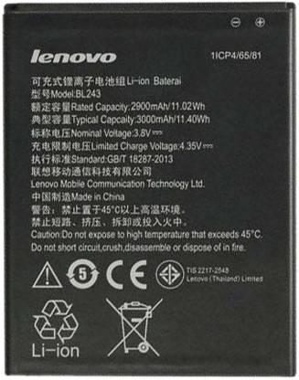 Lenovo Mobile Battery For  LENOVO Lenovo BL243 3000mAh Battery for Lenovo k3 A7000 note K50 -BL-243