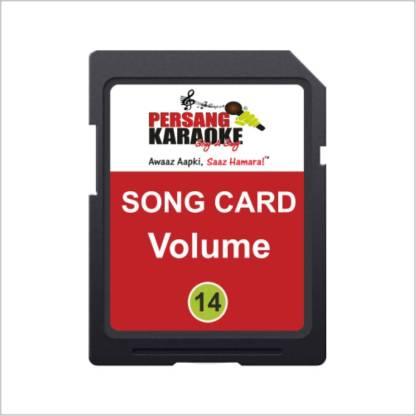 Persang Karaoke Volume-14 8 GB SD Card Class 6 4 MB/s  Memory Card