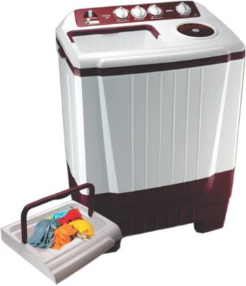 Onida 7.5 kg Semi Automatic Top Load Washing Machine Red