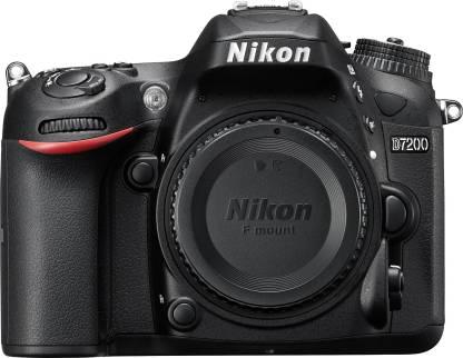 Nikon D7200 DSLR Camera  Body only   16  GB SD Card + Camera Bag  Black  Nikon DSLR   Mirrorless