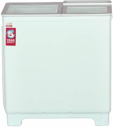 Godrej 8 kg Semi Automatic Top Load White, Pink