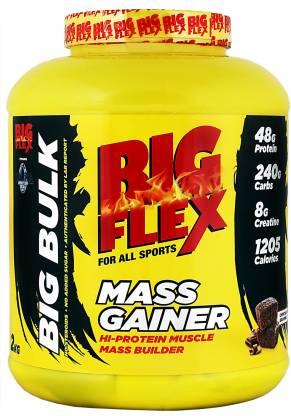 Bigflex Mass Gainer (2 Kg) Weight Gainers/Mass Gainers
