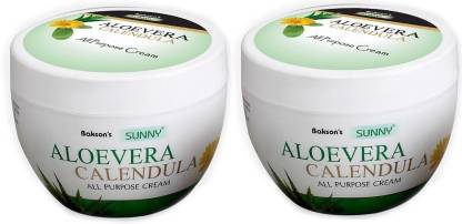 Bakson Aloe vera Calendula All Purpose cream (125g) Pack of 2