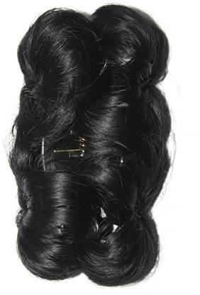 Ritzkart Funky Bun 4 Inch Hair Extension With Clutche Bun
