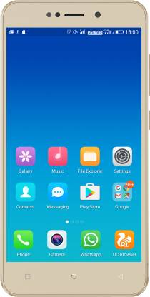 Gionee X-1 (Gold, 16 GB)