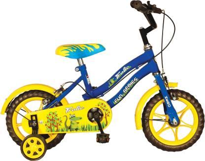 Hero Frolic 12 T Recreation Cycle Single Speed, Blue, Yellow  Hero Cycles