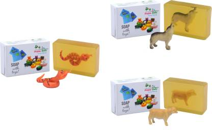 Happy Baby Luxurious Kids Soap With Toy Yellow (Y27)