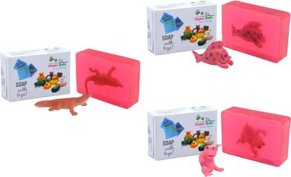 Happy Baby Luxurious Kids Soap With Toy Pink (P35)