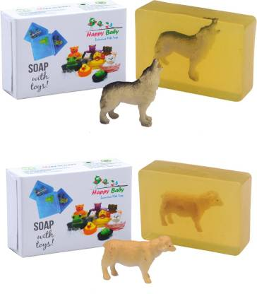 Happy Baby Luxurious Kids Soap With Toy Yellow (Y4)