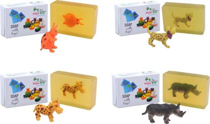 Happy Baby Luxurious Kids Soap With Toy Yellow (Y52)