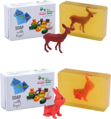 Happy Baby Luxurious Kids Soap With Toy Yellow (Y8)