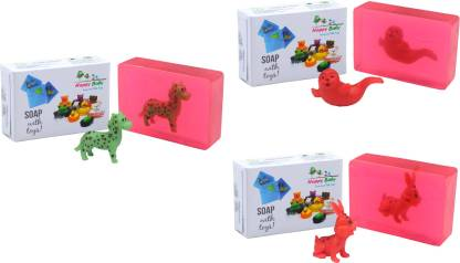 Happy Baby Luxurious Kids Soap With Toy Pink (P38)
