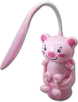 Led Cartoon Night Lamp, Pink Kids Lamp