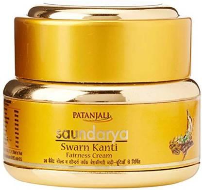 PATANJALI Saundarya Swarn Kanti Fairness Cream 50gm