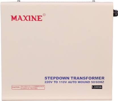 Maxine 1.5kva 1500 ( 1.5 Kva) WATTS AUTO WOUND VOLTAGE CONVERTER 220 v to 110 v STEP DOWN TOROIDIAL TRANSFORMER FOR AMERICAN PRODUCTS MAXINE 100% COPPER