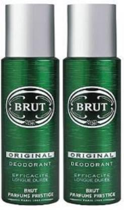 BRUT Imported Original Deodorant (200 ml + 200 ml) Deodorant Spray  -  For Men