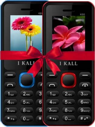 I Kall K66 Combo Of Two Mobile