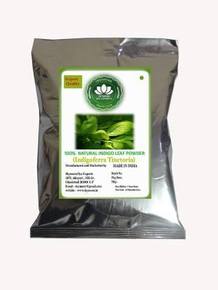 Subh Selection Organic Indigo Leaves powder 100 % Natural , Green