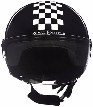 ROYAL ENFIELD Bali Checkered Motorbike Helmet