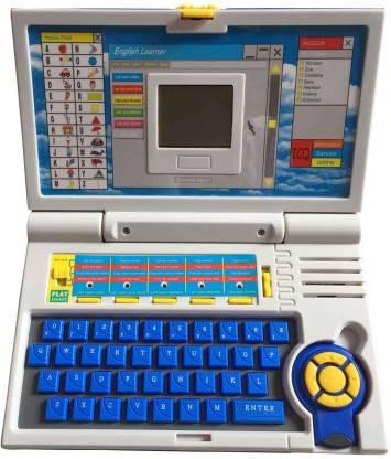 Hariom Enterprise New Educational English Learner Laptop For Kids - 20 Acitivites