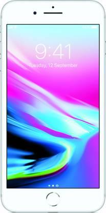 APPLE iPhone 8 Plus (Silver, 64 GB)