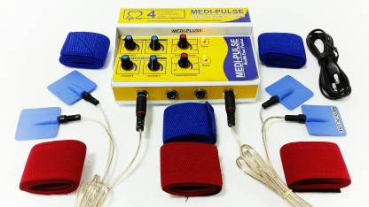 Medi Plus MEDI-PLUSE DELUXE MODEL TEN'S MACHINE, PAIN RELIEVER , STIMULATOR (PRODUCT USE WITH A/C & BATTERY) ALL INDIA SERVICES Electrotherapy Device