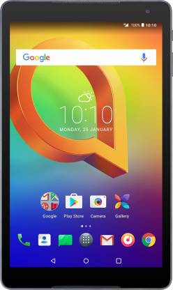 Alcatel A3 10 (VOLTE) 2 GB RAM 16 GB ROM 10.1 inch with Wi-Fi+4G Tablet (Black)