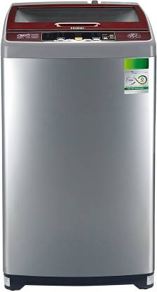 Haier 6.5 kg Fully Automatic Top Load Silver