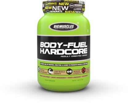 BIG MUSCLES Body Fuel Hardcore Weight Gainers/Mass Gainers