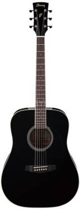 IBANEZ Ibanez PF15-BK Acoustic Guitar Spruce Rosewood Right Hand Orientation