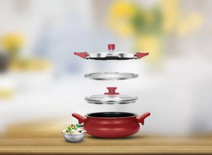 Pigeon All In One Super Cooker 3 L Induction Bottom Pressure Cooker