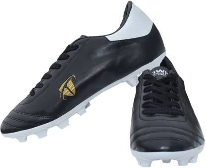 Gowin By Triumph ACE Black, White Football Shoes For Men