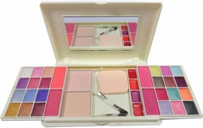 MITENO mars makeup kit 24 shade eyeshadow, 4 color Blusher, 2 Compact, 4shade lipcolor