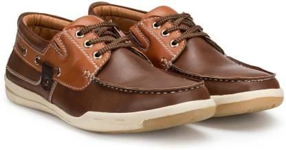 Escaro Boat Shoes For Men