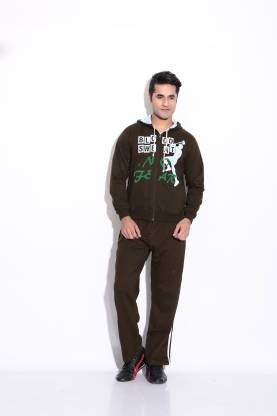 Fizzaro Solid Men & Women Track Suit