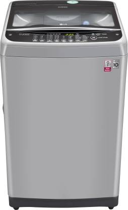 LG 8 kg Inverter Fully Automatic Top Load Silver